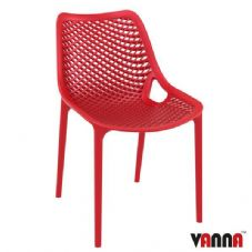 Vanna Spring Side Chair - Red